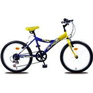 "Olpran MTB Lucky žlto/modrý - Detský bicykel 20"""