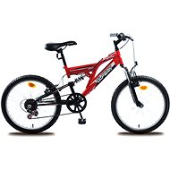 "Olpran MTB Buddy červeno/čierna - Detský bicykel 20"""