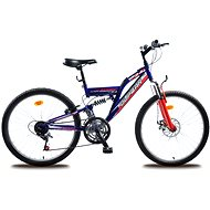 """Olpran MTB Magic disc modro/červený - Detský bicykel 24"""""""
