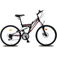 """Olpran MTB Magic disc čierno/červený - Detský bicykel 24"""""""