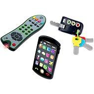Trio set Tech Too – kľúče, ovládač a telefón - Interaktívna hračka