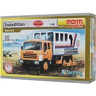 Monti 12 - Expedícia Tatra 815 mierka 1:48 - Stavebnica