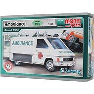 Monti 06 - Ambulancia Renault Trafic, mierka 1:35 - Stavebnica