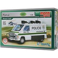 Monti 27 - Polícia Renault Trafic mierka 1:35 - Stavebnica