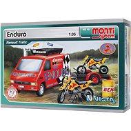 Monti 49 - Enduro Renault Trafic mierka 1:35 - Stavebnica