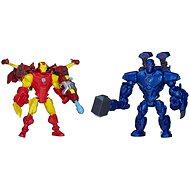 Avengers Hero Mashers – Iron man vs. Iron monger - Súprava figúrok