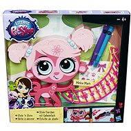 Littlest Pet Shop – Dekoratívne zvieratko ružové - Herná súprava