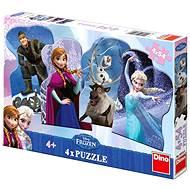 Dino Ľadové kráľovstvo - Puzzle