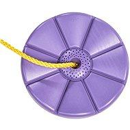 Swing CUBS Disk – Fialový kvet - Hojdačka
