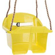 CUBS Základná plastová hojdačka – žltá - Hojdačka