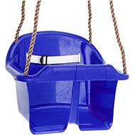Hojdačka CUBS Basic plastová – modrá - Hojdačka