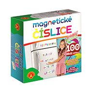 Magnetické čísla na chladničku - Herný set