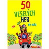50 Veselých hier do auta - Spoločenská hra