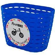 FirstBike košík modrý - Košík na bicykel