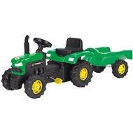 Šliapací traktor s vozíkom - Šliapací traktor