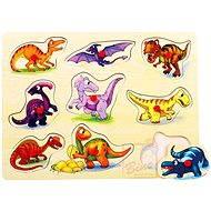Puzzle na doske - Dinosaury - Puzzle