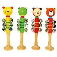 Bino Rolničky s 9 zvončekmi - Hudobná hračka