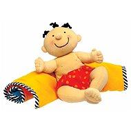 K's Kids Hadrový panáček s dekou a mnoha aktivitami - černoušek