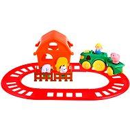 Hudobná farma - Sada s koľajami - Hudobná hračka