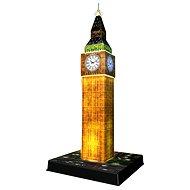 Big Ben - Nočná edícia 3D - Puzzle