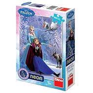 Disney Ice Kingdom Neon - Puzzle