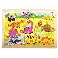 Bino Puzzle - Dinosaury - Puzzle
