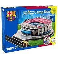 3D Puzzle Nanostad Spain - Camp Nou futbalový štadión Barcelona - Puzzle