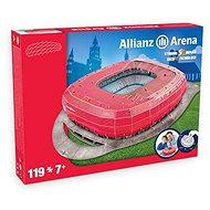 3D Puzzle Nanostad Germany - Allianz Arena futbalový štadión Bayern Mníchov - Puzzle
