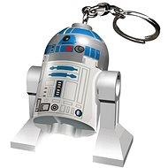 Svietiaca kľúčenka LEGO Star Wars - R2D2
