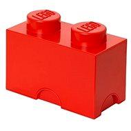 Úložný box LEGO Úložný box 125 × 250 × 180 mm – červený