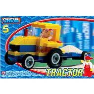 Cheva 5 – Traktor s vlekom - Stavebnica