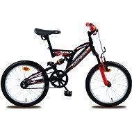 Olpran Miki červená / čierna - Detský bicykel