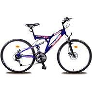 "Olpran Laser full disc modro/čierny - Detský bicykel 26"""