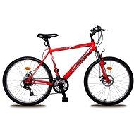 "Olpran Bomber full disc 26"" červený - Detský bicykel 26"""