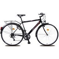 OLPRAN men trekking bike Mercury Black - Cross Bike