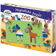 Detoa Drevené hračky - Magnetické puzzle ZOO - Puzzle