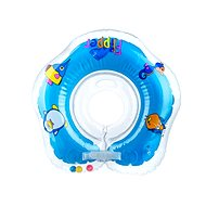 Plávací nákrčník Flipper modrý - Nafukovacia hračka