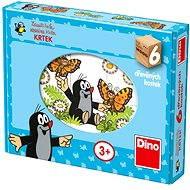Dino Drevené puzzle – Krteček - Puzzle