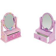 Šperkovnica - Zrkadlo so zásuvkami - Herná súprava