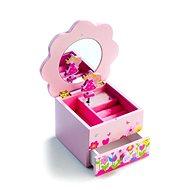 Šperkovnica - Kvetinová skrinka hrajúca - Herná sada