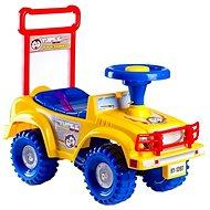 Odrážadlo auto Jeep Yupee, žlté - Odrážadlo