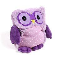 Hrejivá Sova, fialová - Plyšová hračka