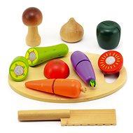 Zelenina krájacia s doskou - Herná súprava