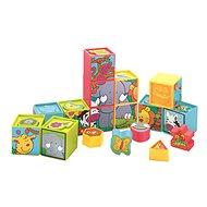 Stavebnica Vkladačka – kocky v krabici - Stavebnice