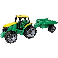 Lena Traktor plast bez lyžice a bagra s vozíkom - Auto