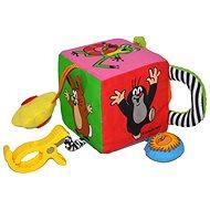 Textilná kocka pre najmenších – Krtko - Didaktická hračka