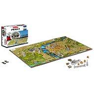 4D City - Puzzle Praha - Puzzle