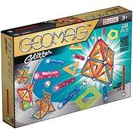 Geomag - Glitter 68 dielikov - Magnetická stavebnica