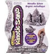 Kinetický piesok – 454 g Metalic strieborný - Kreatívna súprava