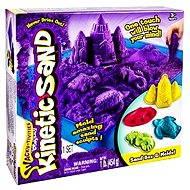 Kinetický piesok - Box 454 g fialová farba - Kreatívna súprava